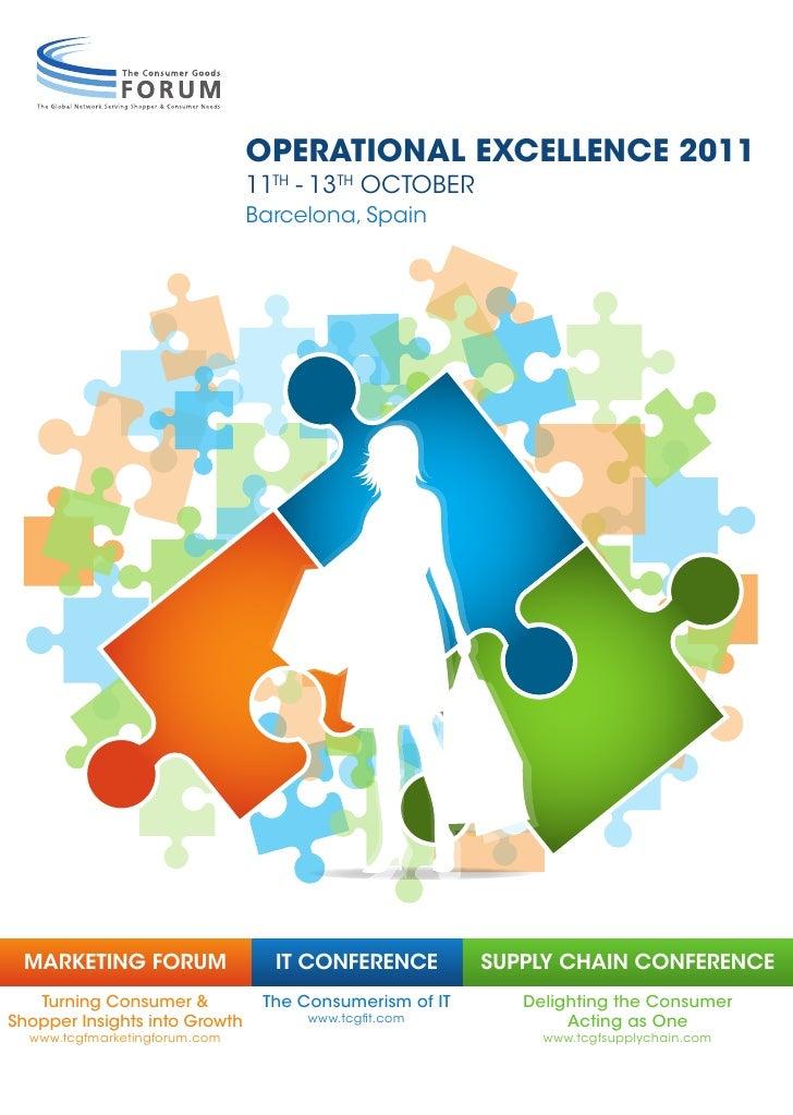 Marketing Forum 2011 Programme