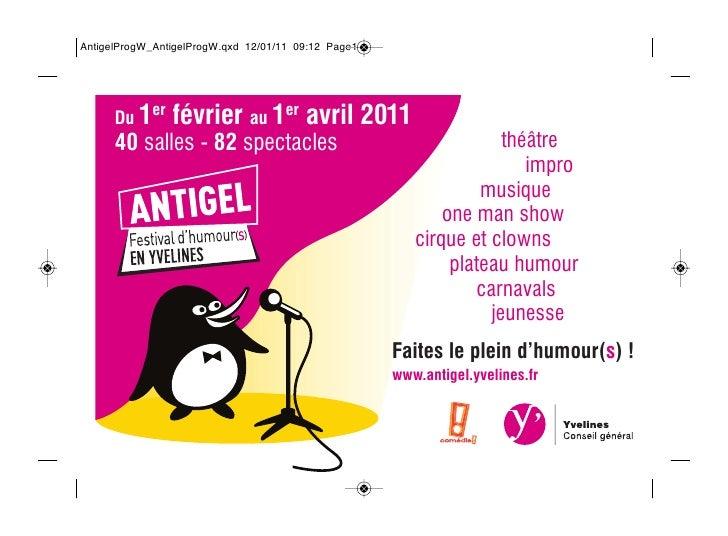 Du 1er   février au 1er avril 201140 salles - 82 spectacles                        théâtre                                ...