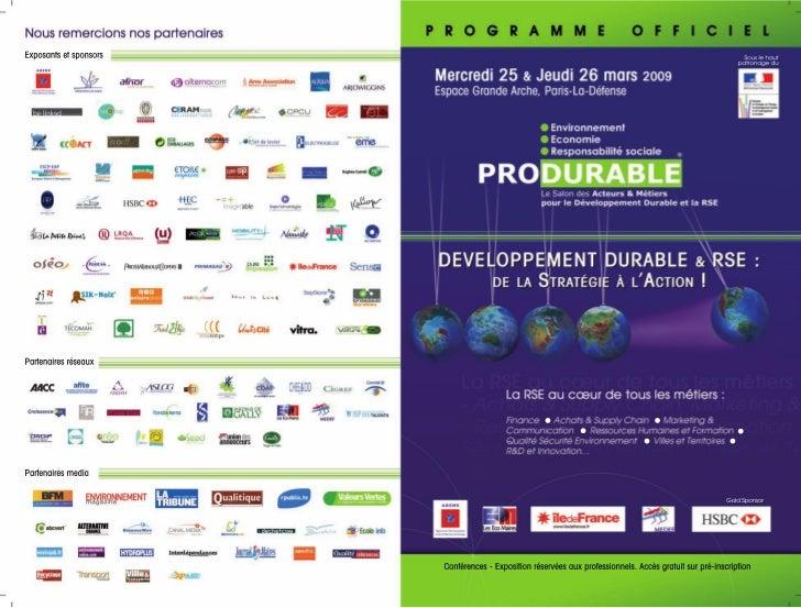 Programme officiel 09