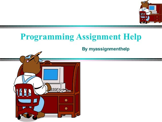 Computer Programming writing a good assignment