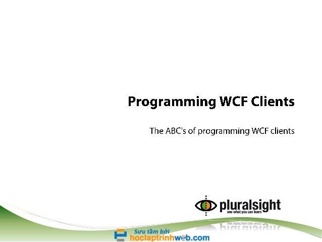 Programming clients-slides