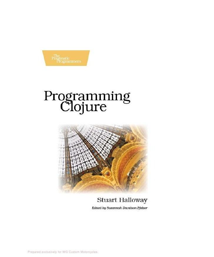 Programming.clojure