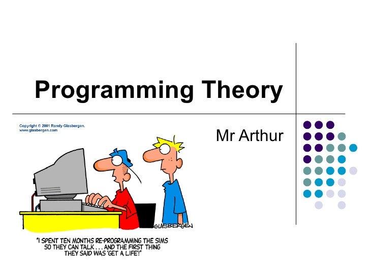 Programming Theory