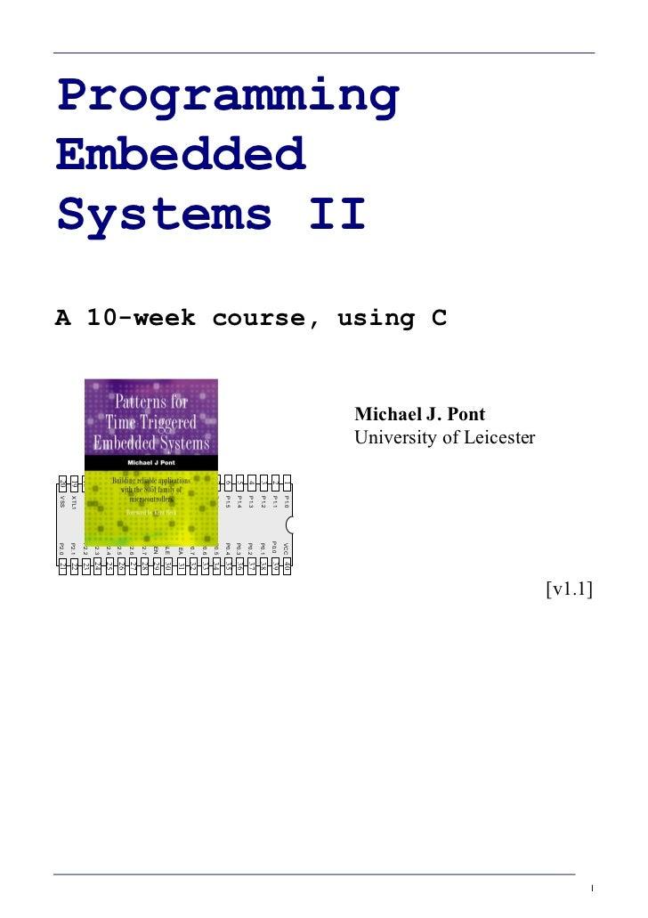 Programming embedded system_ii_keil_8051(1)