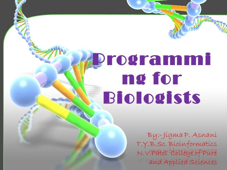 Programming for Biologists