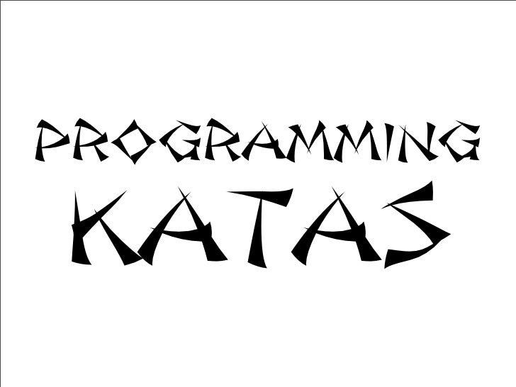 ProgrammingKatas