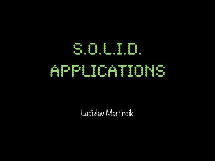 Programming SOLID