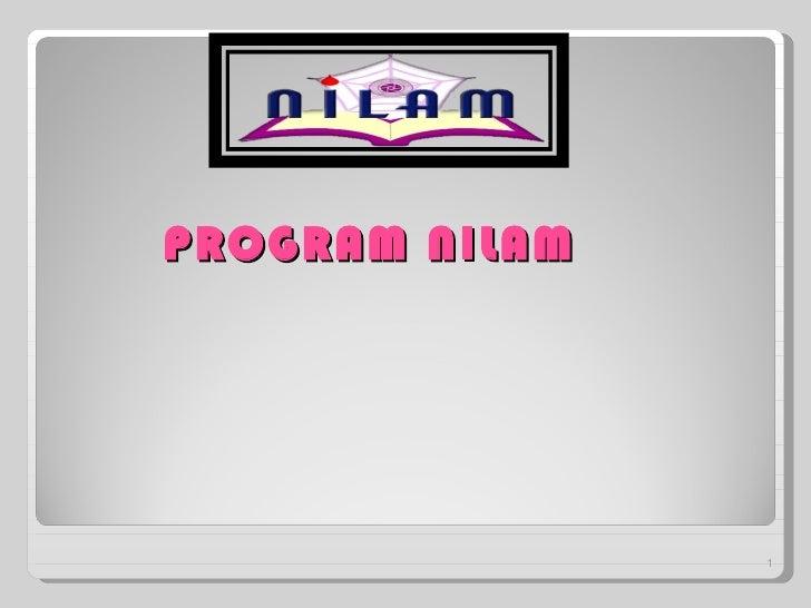 PROGRAM NILAM                1