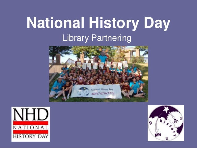National History Day Library Partnering