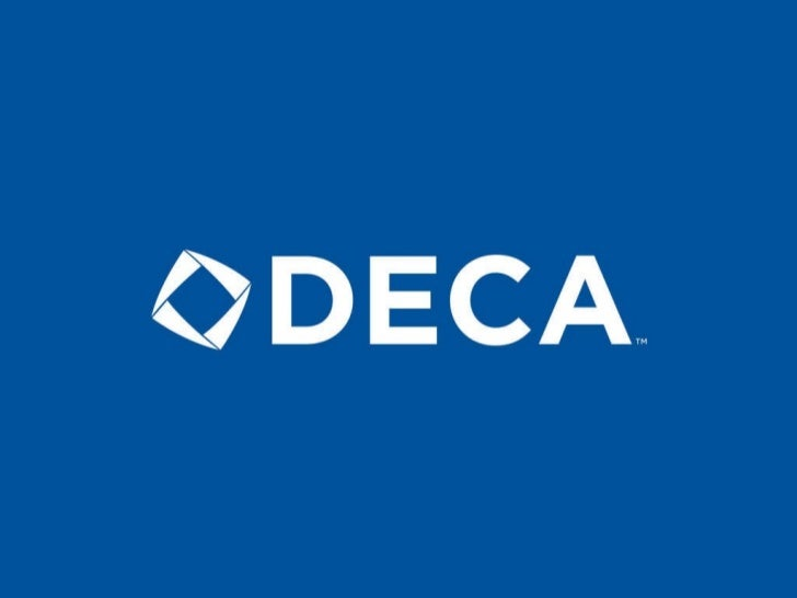 DECA Programs of Study