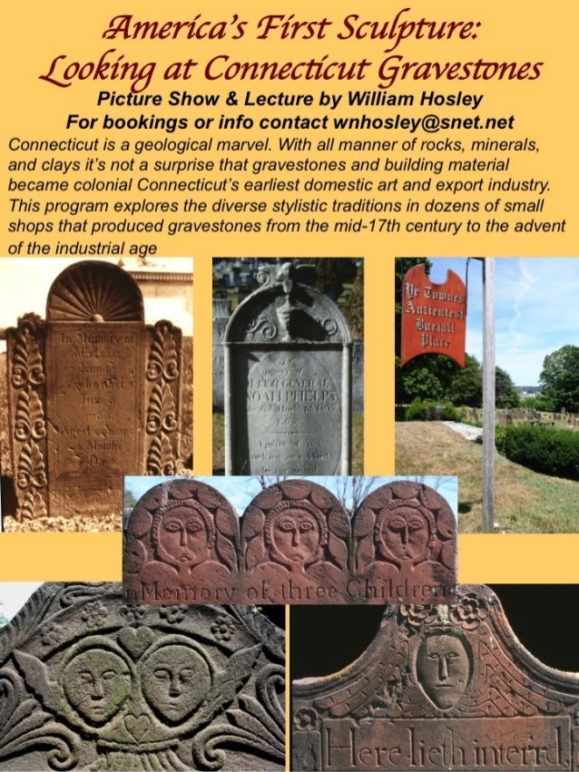 Programs on Connecticut Art & History & Special Places by William Hosley