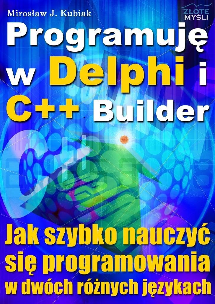 Programuję W Delphi I C Builder