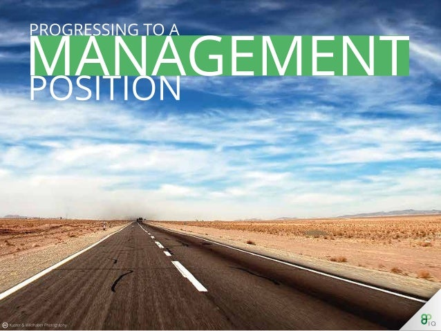 Progressing to a Management Position
