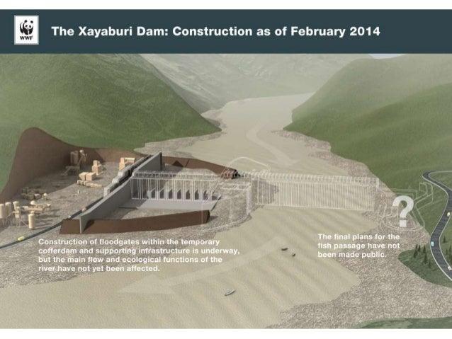 Progression and impacts of xayaburi dam construction