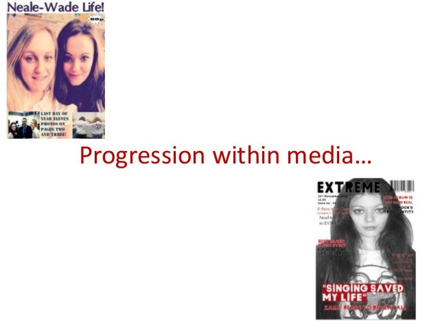 Progression within media…