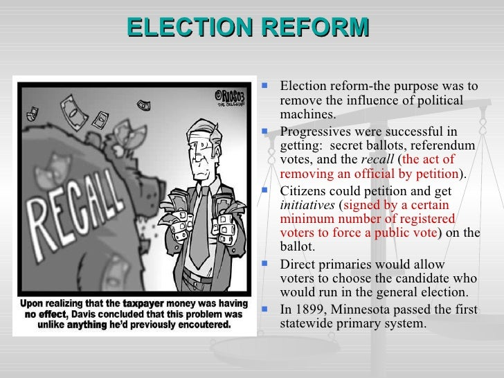 electoral reforms essay Samantha heder  april 2 nd 2012  pols- 1100  persuasive essay- electoral college  what should be done with the electoral college—keep it, reform it, or replace it with.