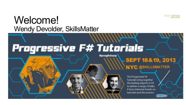 Progressive f# tutorials nyc don syme on keynote f# in the open source world