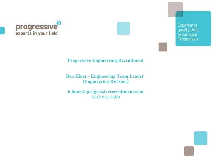 Progressive Presentation Ge 060710