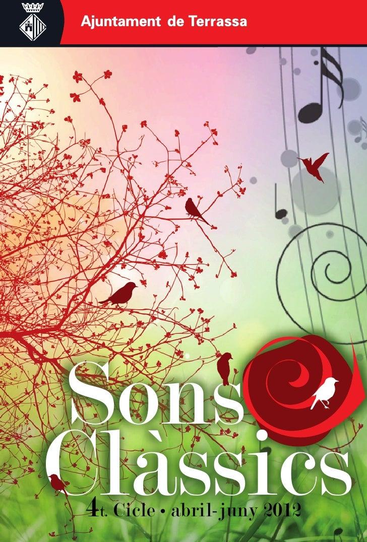 SonsClàssics 4t. Cicle • abril-juny 2012