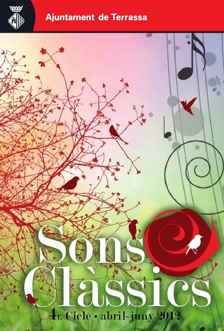 Sons Clàssics 2012