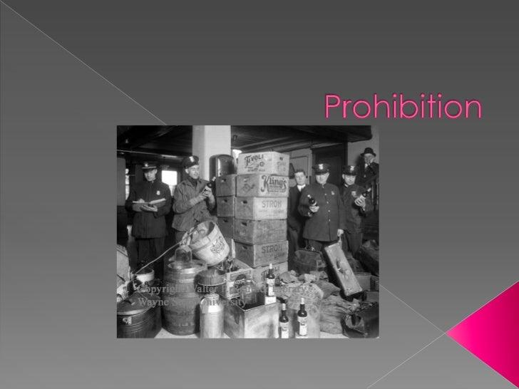 Prohibition<br />
