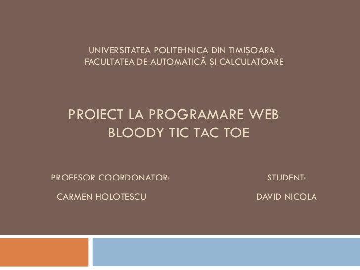 Proiect pw