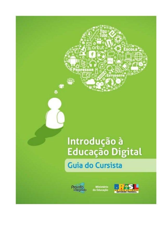 Proinfo  Introducao a Educacao Digital - 60f