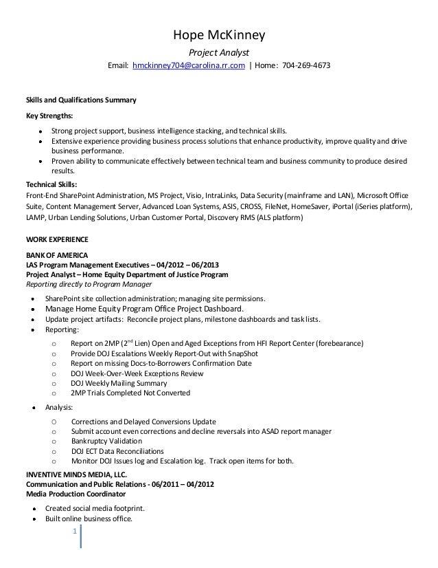 Resume Credanalyst. Analyst Resume Example Business Analyst Resume