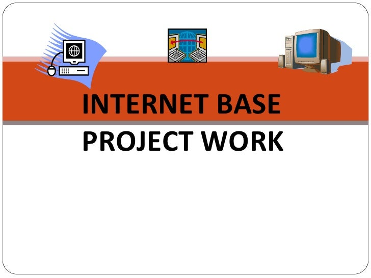 project work on internet
