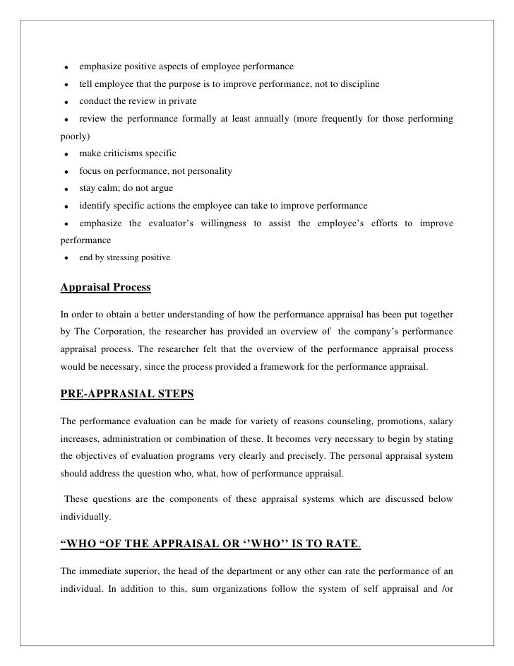 research paper on credit appraisal A research study on employee appraisal system case of hong kong and shanghai banking wwwijbmiorg 61 | p a g e.