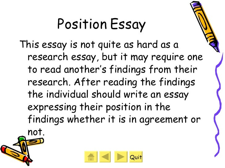 What Are The Different Kinds Of Essay