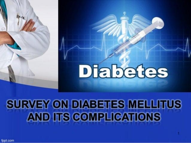 diabetes mellitus & their complications