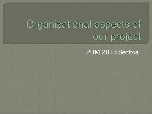 PUM 2013 Serbia