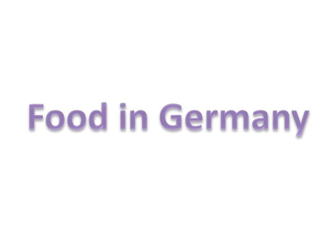 German cuisine has evolved as a national cuisine through centuries of social and political change with variations from reg...