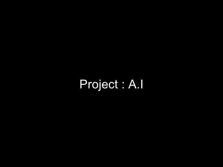 Project a.i (1st runner)