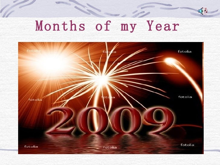 Months of my Year