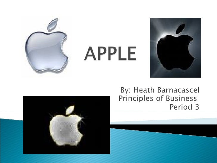 By: Heath Barnacascel Principles of Business  Period 3