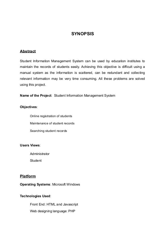 information systems thesis paper An information system is an integrated set of components for collecting, storing, processing and communicating information business firms, other organizations, and.