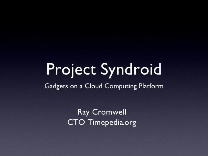 Project Syndroid