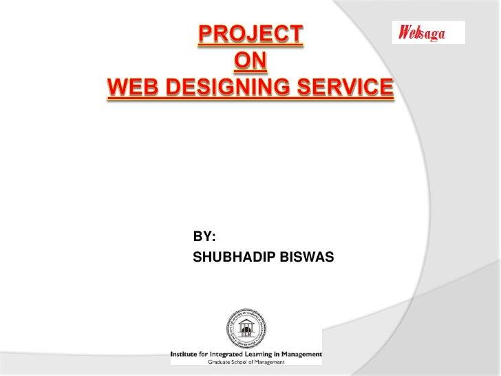marketing strategy of web designing service