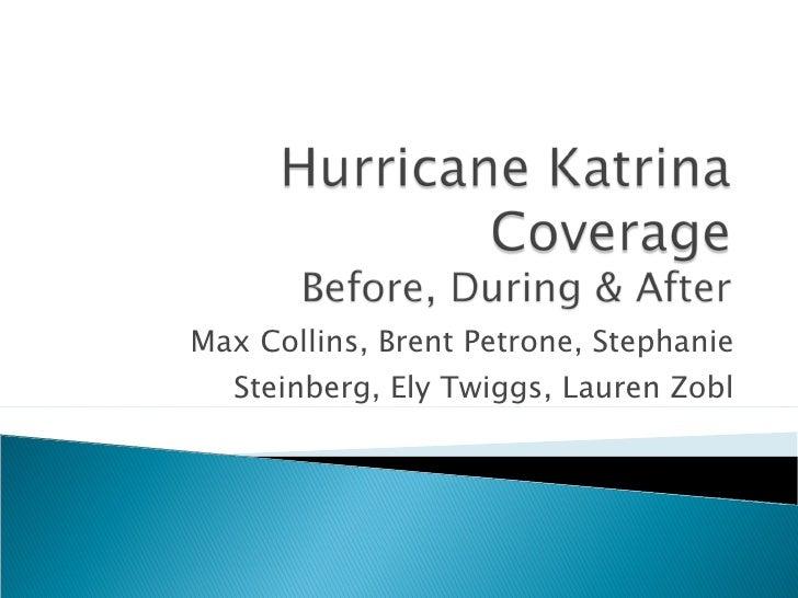 Coverage of Hurricane Katrina