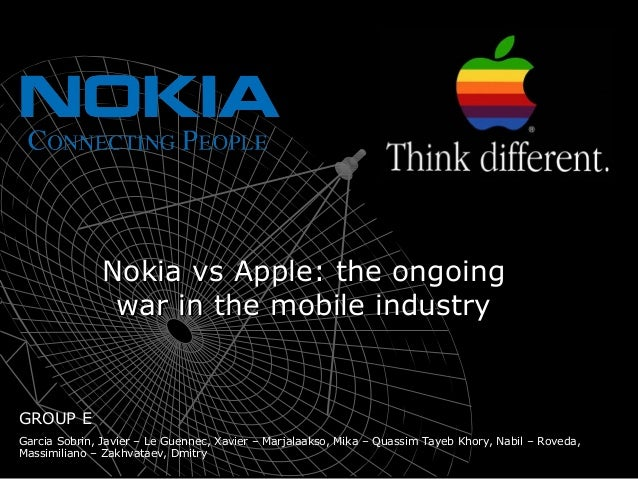 Nokia vs. Apple - the ongoing war in the mobile industry