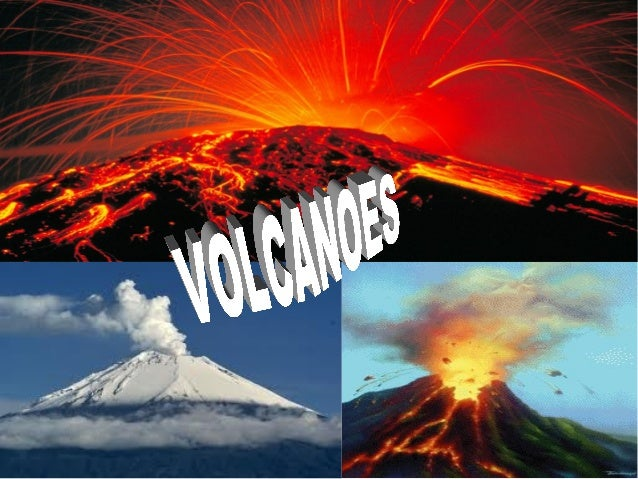 A volcano is a mountain.Inside every volcano there is a deep hole and it goes deep downinside the Earth.