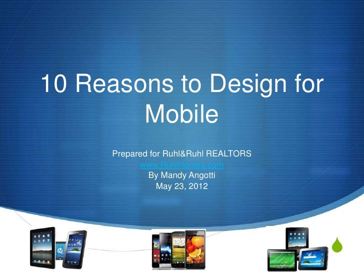 10 Reasons to Design for Mobile