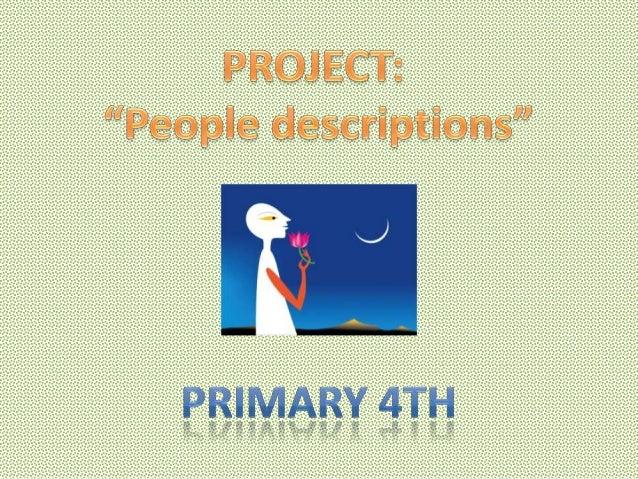 Project 4º  people description