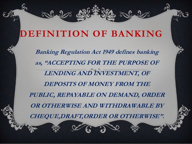 investment banking definition pdf