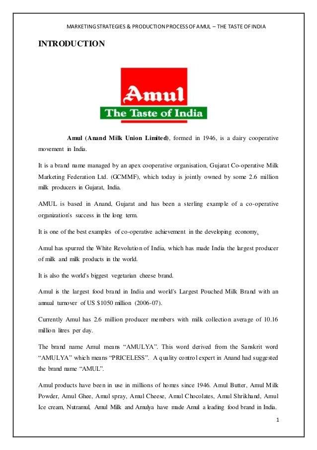 Segmentation,Targeting and Positioning of Amul