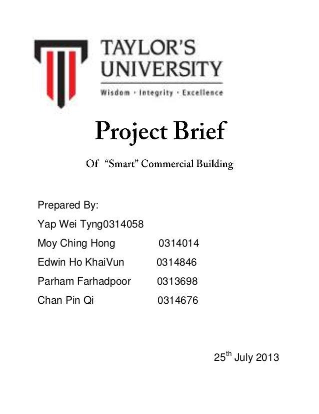 Prepared By: Yap Wei Tyng0314058 Moy Ching Hong 0314014 Edwin Ho KhaiVun 0314846 Parham Farhadpoor 0313698 Chan Pin Qi 031...