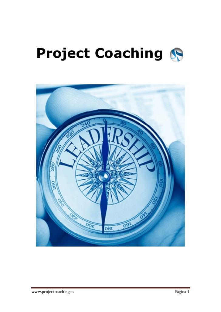 Project Coachingwww.projectcoaching.es   Página 1