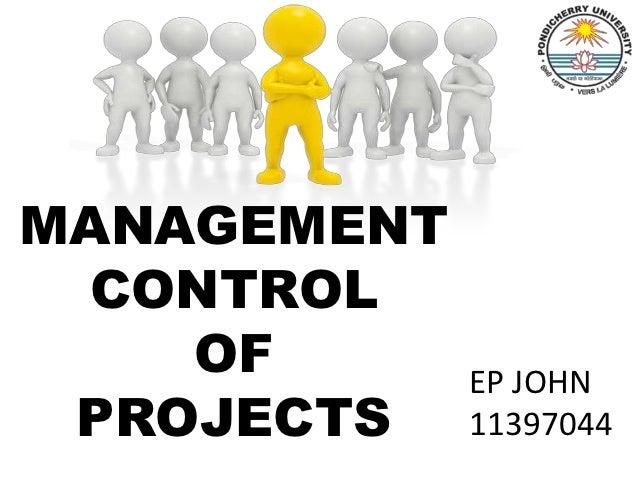 MANAGEMENT CONTROL    OF       EP JOHN PROJECTS    11397044